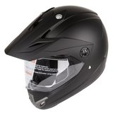 New Hybrid Helmet Supermoto MX Sport Bike Cruiser ATV DOT Quad matt black in San Ysidro, California