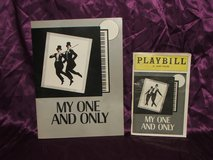 "Twiggy and Tommy Tune: ""My One And Only"" Souvenir Program and Playbill in St. Charles, Illinois"