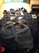 3 pairs of 4t overalls and one pair of shorts in Camp Lejeune, North Carolina