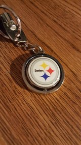 STEELER SPINNING KEY CHAIN in Yucca Valley, California