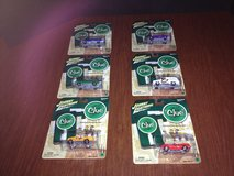 "Johnny Lightning Lot of 6 Diecast & ""Clue"" Modern Car Series in Naperville, Illinois"