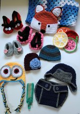 Crochet Items Baby shoes, blankets, kids hats in Beaufort, South Carolina