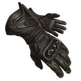 Motorcycle race gloves Olympia vent gauntlet kevlar carbon fiber leather in San Ysidro, California