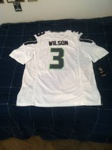 RUSSELL WILSON White Stitched Nike NFL Adult Large & XXL Jersey (NEW) in Tacoma, Washington