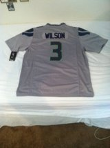 RUSSELL WILSON Grey (Alternate) Stitched Nike NFL Adult XL Jersey (NEW) in Tacoma, Washington