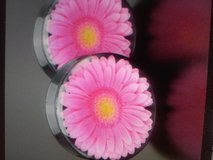 pink gerbera daisy plugs body jewelry in Camp Lejeune, North Carolina