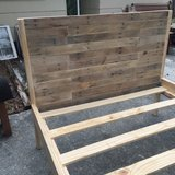 Pallet wood bed full twin queen king bunk in Camp Lejeune, North Carolina