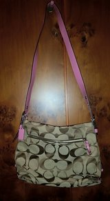 Authentic Coach 24cm Signature Duffle in Spangdahlem, Germany