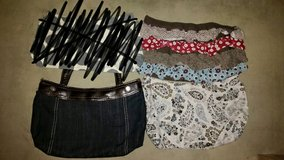 Thirty One Fitted skirt purse with 2 extra skirts in Spangdahlem, Germany