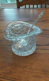 crystal and sterling silver spoon in Glendale Heights, Illinois