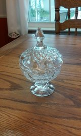 crystal candy dish in Glendale Heights, Illinois