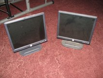 "2 17"" flat screen Dell monitors in Moody AFB, Georgia"