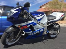 2002 Suzuki GSXR 600 in Fort Irwin, California