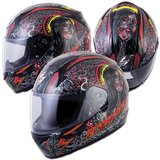 New Scorpion Snell DOT motorcycle helmet black red full face in San Ysidro, California