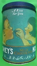 "VIINTAGE COLLECTIBLE HERSHEY'S ""A KISS FOR YOU"" TIN CAN in Alamogordo, New Mexico"