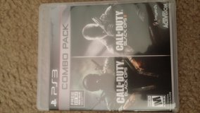 PS3 Call of Duty Black Ops 1& 2 (combo pack) in Travis AFB, California