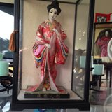 Tall Japanese  Doll in Schofield Barracks, Hawaii