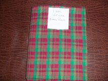 FABRIC ~ Christmas Plaid (Red/Green) in Colorado Springs, Colorado