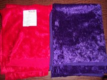 FABRIC ~ Crushed Panne Velvet ~ Red / Purple in Colorado Springs, Colorado