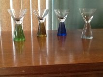 Carnival shot glasses set of 4 in Yucca Valley, California