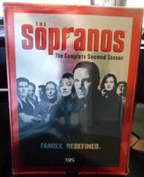 "BRAND NEW ""SOPRANOS"" COMPLETE SECOND SEASON VHS SET in Beaufort, South Carolina"