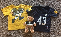 Pittsburgh Steelers 3T jersey, T shirt & Teddy Bear in Fort Campbell, Kentucky