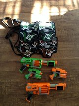 Nerf Dart Tag Guns with Vests, Safety Glasses, and Darts. in Hopkinsville, Kentucky