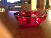 Red Tealight Holder in Naperville, Illinois
