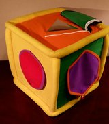 Neurosmith Discovered and  Grow Learning Jumbo Music Block Cube Plush Toy in Joliet, Illinois