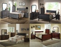 5pc Queen Bedroom Sets *BRAND NEW* 4 Options Available in Fairfax, Virginia