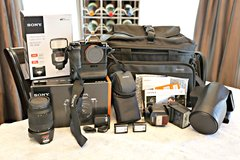 SONY A7 BRAND NEW Full Frame Mirrorless PRO camera - BUNDLE!!!!  Steal - my loss your blessing! in Houston, Texas