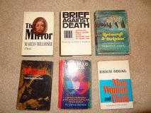 collection of older hard cover novels in Tomball, Texas