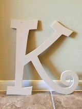 Wooden letters in Conroe, Texas