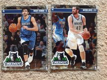 2 - Minnesota Timberwolves FATHEADs in Camp Lejeune, North Carolina