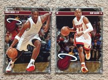 2 - Miami Heat FATHEADs in Camp Lejeune, North Carolina