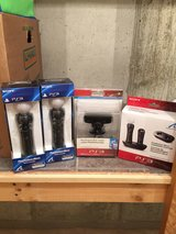 New PS3 Playstation Move controllers, charging station and camera for sale! in Fort Riley, Kansas