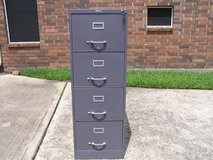 VINTAGE NATIONAL 4-DRAWER FILE CABINET in Kingwood, Texas
