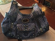 Reduced price!!! Blue Sequined Handbag in Alamogordo, New Mexico