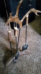 Antler Fireplace Tool Set in Fort Campbell, Kentucky
