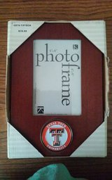 Brown Texas Tech Picture Frame (NIB) in Conroe, Texas