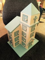 Wooden Church Advent Calendar in Camp Lejeune, North Carolina