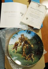 Davy Crockett Collectors Plate from Crown Parian- new in Bolingbrook, Illinois