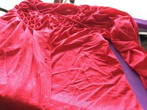 medium red bed jacket in Batavia, Illinois