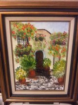 19 x 23 framed oil painting in Sacramento, California