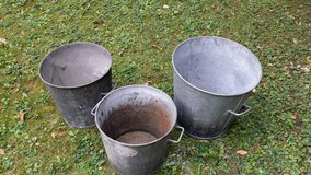2 medium buckets. Large sold. in Ramstein, Germany