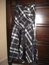 NEW WITH TAGS Sweetheart Neckline Black and White A-line Dress, Size 3/4  ADORABLE! in Alamogordo, New Mexico