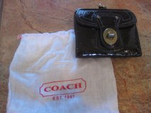 Coach Wallet, brown patent leather legacy lining, dust bag included in Alamogordo, New Mexico