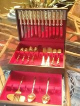 Gold Toned Flatware set in Batavia, Illinois