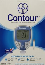 Bayer's Contour Blood Glucose Monitoring System in Houston, Texas