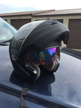 Motorcycle helmet in Elgin, Illinois